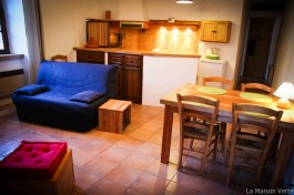 Le salon / salle à manger